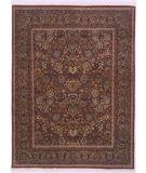 RugStudio presents Lotfy and Sons Prestige Mashad Red/Blue Hand-Knotted, Better Quality Area Rug